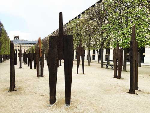 Chung Hyun, instalação no Palais Royal