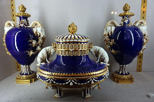 Serviço encomendado por Louis XV