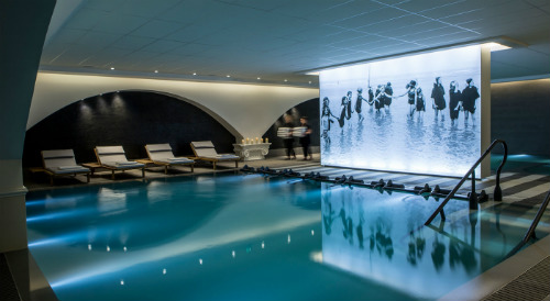 A piscina do Thalasso Sea & Spa