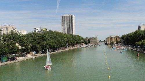 A Bassin de la Villette (foto: Erasm