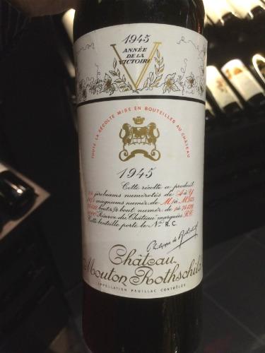 Mouton Rothschild 1945 - 45.000€