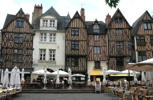 A cidade de Tours, onde terminamos nosso roteiro