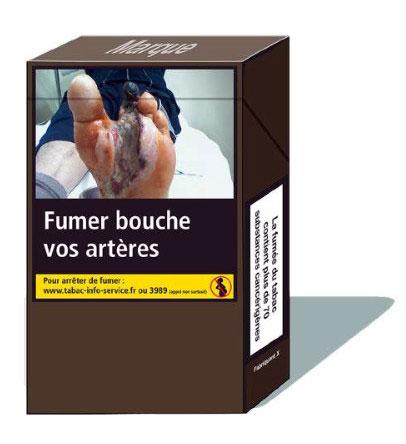 Novo maço de cigarro