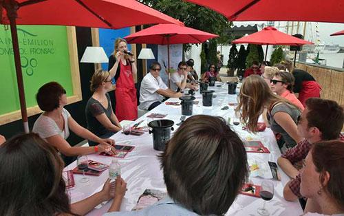 Degustações na Escola de Vinho de Bordeaux