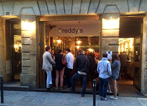 Freddy's Bar em Saint Germain