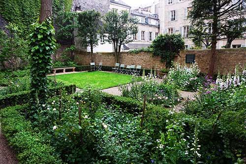 Jardim privado do Musée Delacroix