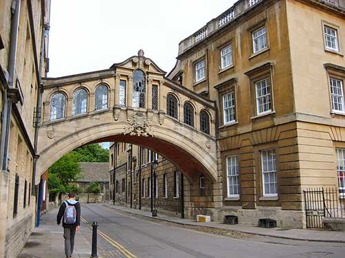 Bridge of Sighs. Fonte: J. Miers @ Wikimedia Commons