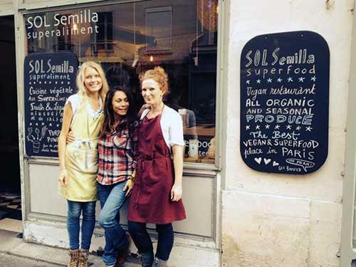 Sol Semiila e sua chef