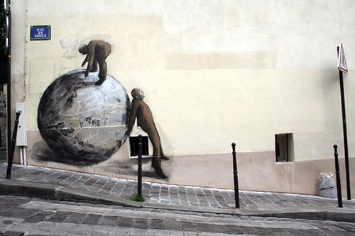 Street art. Philippe