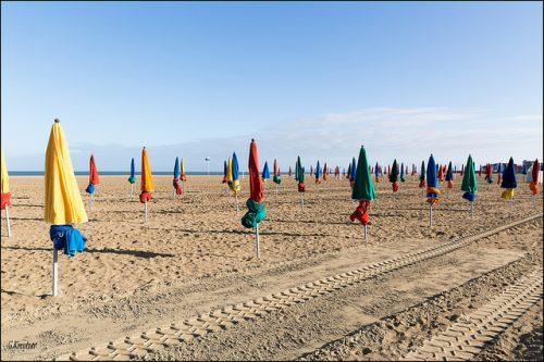 Praia de Deauville (foto: GK Sens-Yonne no Flickr)