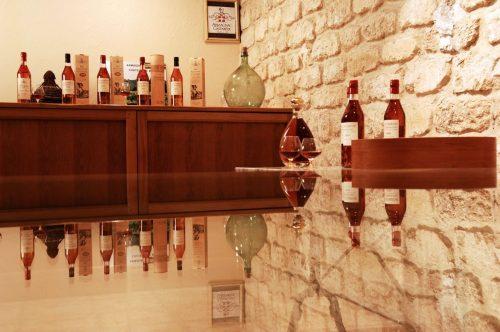 Armagnac Castarède salle de dégustation