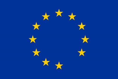 Bandeira da União Europeia sem uma das estrelas representando os países membro