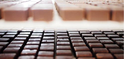 Chocolates e caramelos Jacques Génin