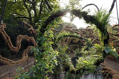 « Le jardin flottant du songe », Festival International des Jardins, 2016 - © Eric Sander