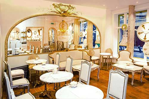 Espaço degustação e salão de chá