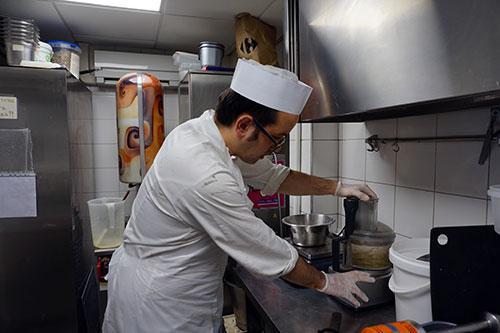 O chef Giancarlo
