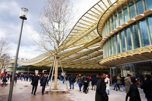 """O novo Forum Les Halles e sua """"canopée"""""""