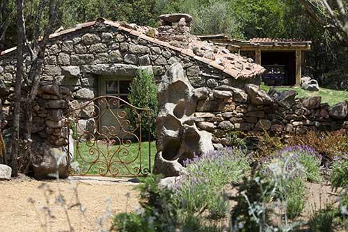 Uma das residências do Domaine Murtoli