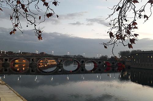 Toulouse, rio Garonne. Foto Juarez