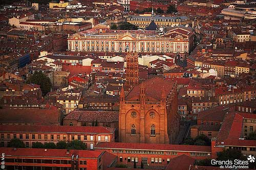 Toulouse, a cidade rosa. Tourisme Midi Pyrénées no Flickr