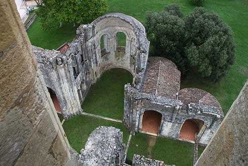 Abadia Sauve Majeure.Kristobalite no Flickr