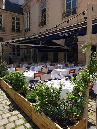 Brasserie Grand Coeur, no Marais. Foto Oficial.