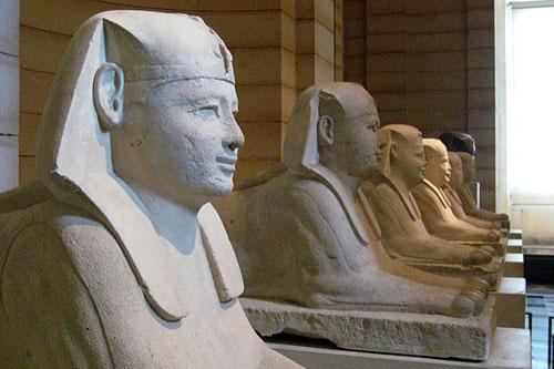 Museu do Louvre, Antiquités Egypciènnes. Wally Gobetz no Flickr