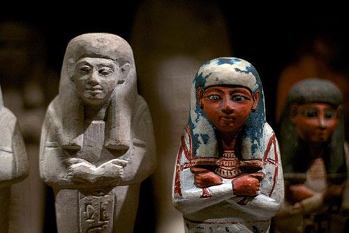 Louvre, Departamento Antiguidades Egípcias. Julien Texier no Flickr
