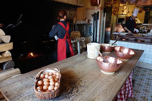 Omelete Mère Poulard