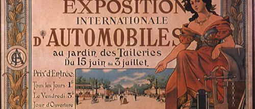 Mondial de l'Automobile no século 19