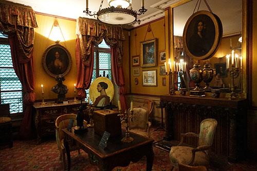 Uma das salas do Museu da Vida Romântica