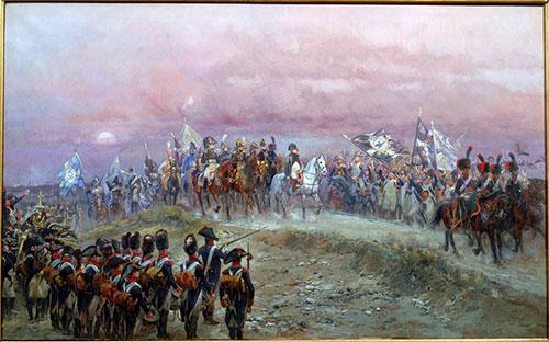 La victoire est à nous ! Soir d'Iéna, 1806, Jean-Baptiste-Edouard Detaille, coll. musée de l'Armée.