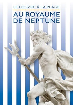 """Cartaz da exposição """"No reino de Netuno"""""""