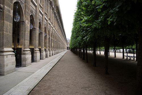 Jardim do Palais Royal. Blaine O'Neill no Flickr