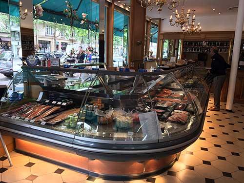 Petrossian, loja e brasserie