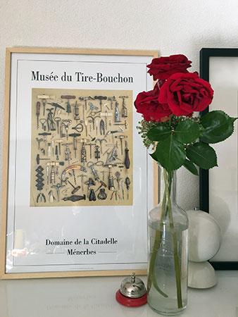 Affiche do Musée du Tire-Bouchon