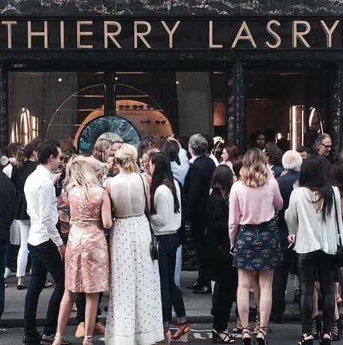 Foto oficial, loja Thierry Lasry em Saint Germain