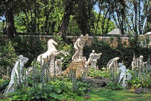 Jardins da Villa Médicis. Jean Pierre Dalbéra no Flickr