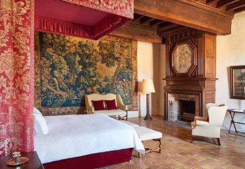 """Uma das suítes """"château"""""""