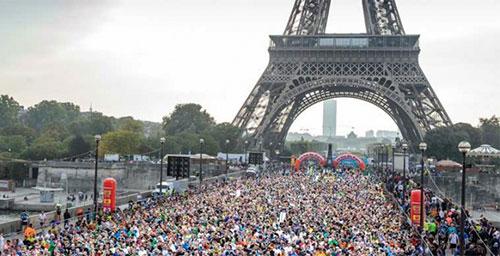 20 km Paris. Foto oficial.