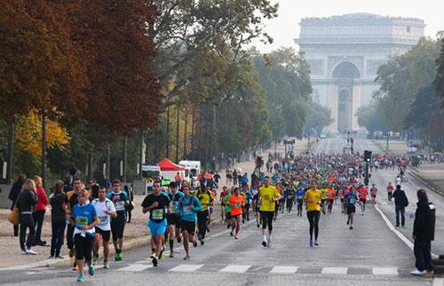 20 km Paris. Foto oficial