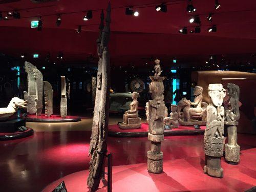 Peças do acervo do museu