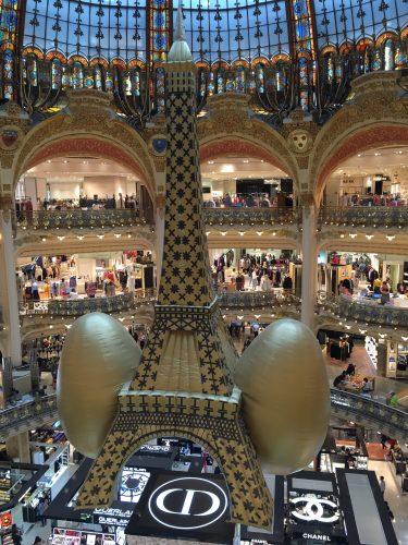 A instalação sob a cúpula da Lafayette