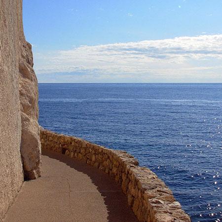 Cap d'Ail, sentier du littoral. Aidan wakely Mulroney no Flickr
