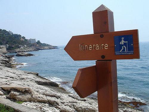 Cap d'Ail, trilha do litoral. Izabella Andersson no Flickr