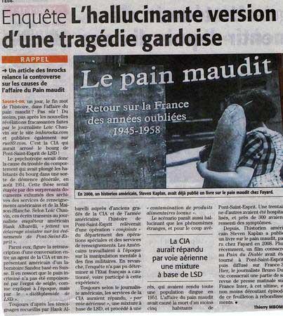 Jornais franceses levantam a hipótese da CIA