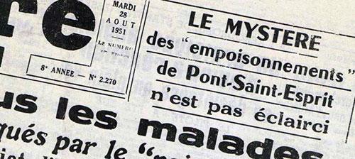Jornal da época: o mistério do pão envenenado