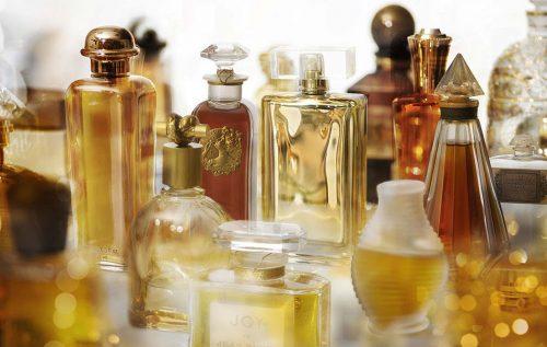 Perfumes do acervo da Osmothèque