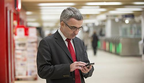 WiFi gratuito nas estações do metrô de Paris