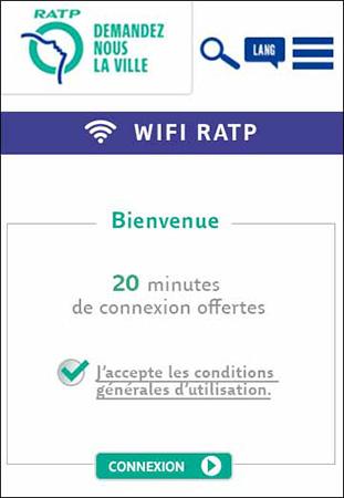Acesso WiFi gratuito